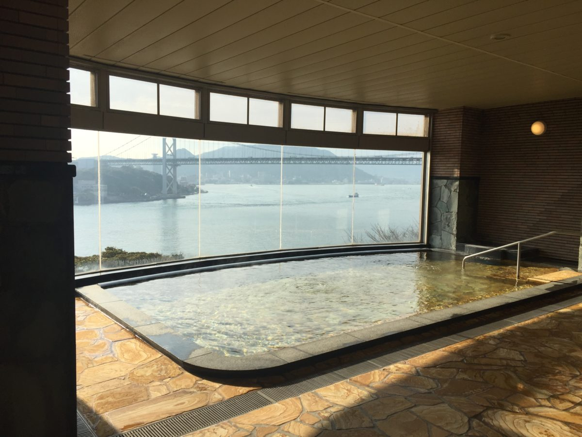 海峡ビュー風呂
