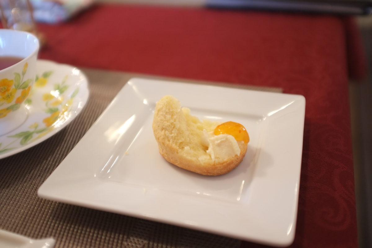 クロテッドクリームと柑橘ジャム
