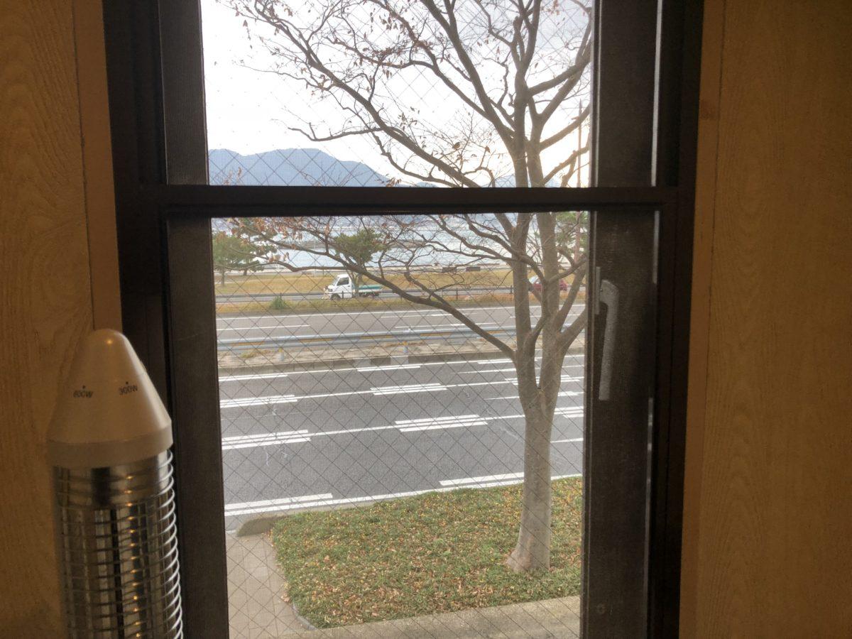 喫煙所からの風景