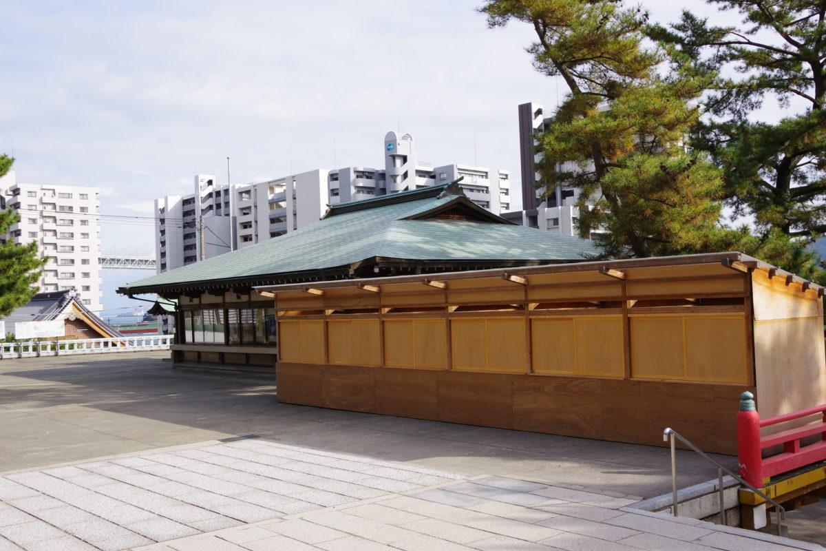 赤間神宮小屋