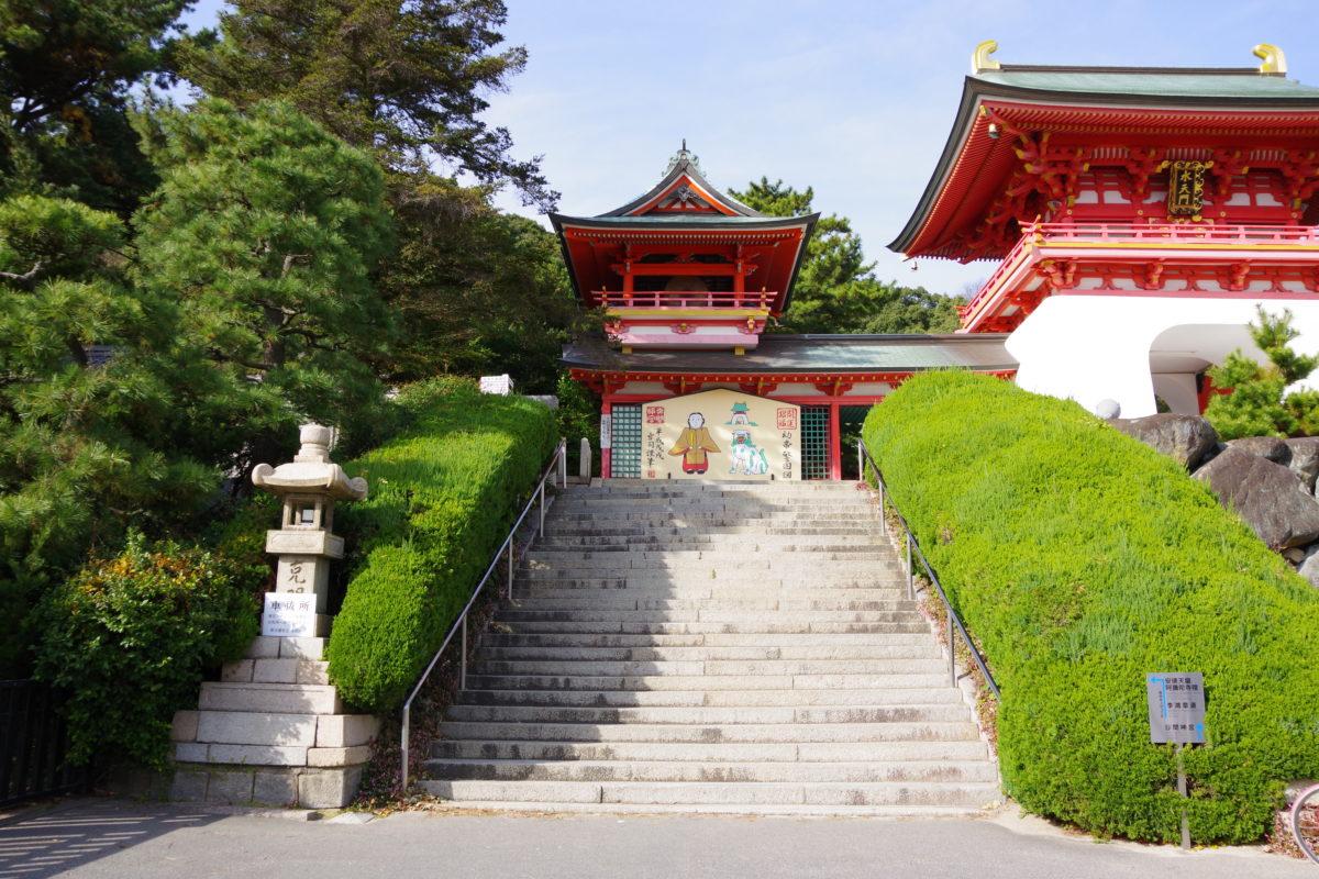 赤間神宮入口階段