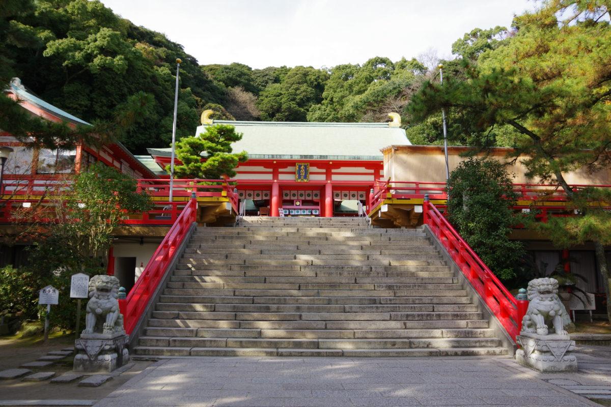 赤間神宮階段