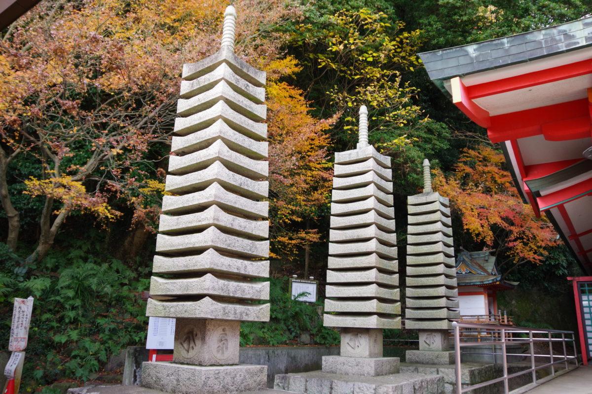 赤間神宮水天供養塔