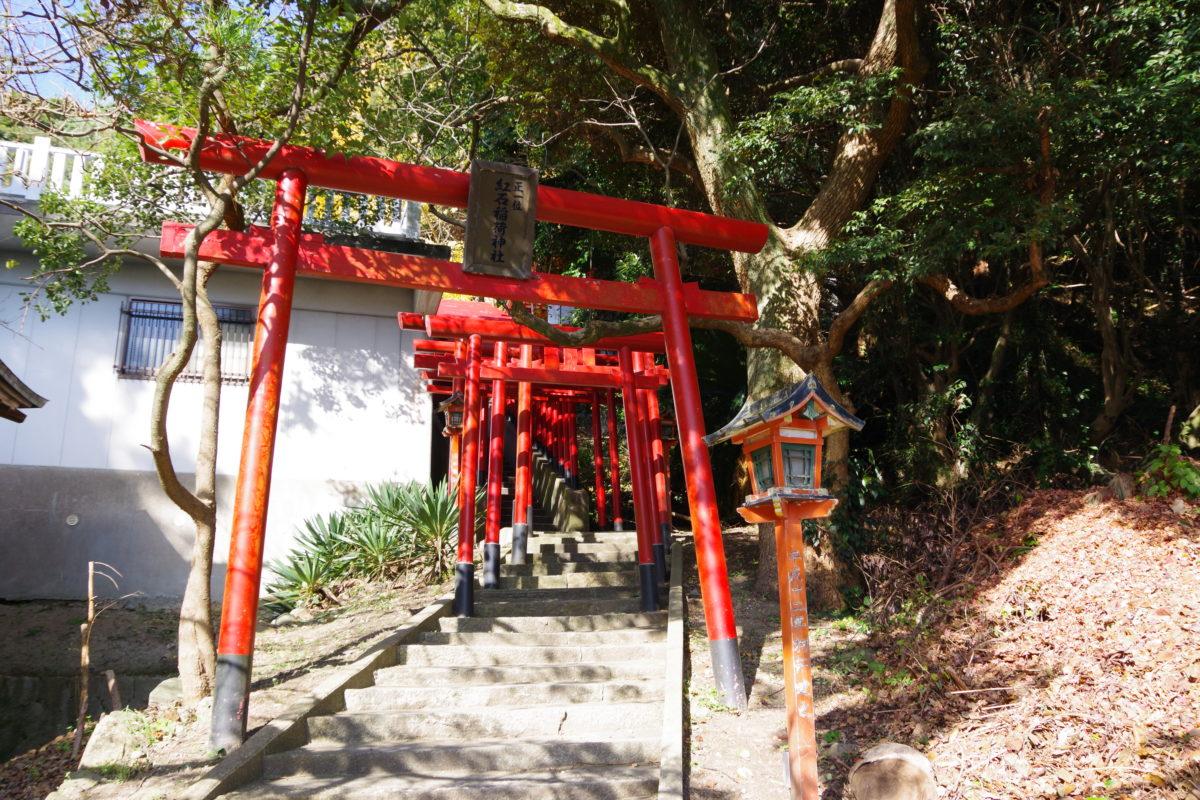 紅石稲荷神社鳥居03