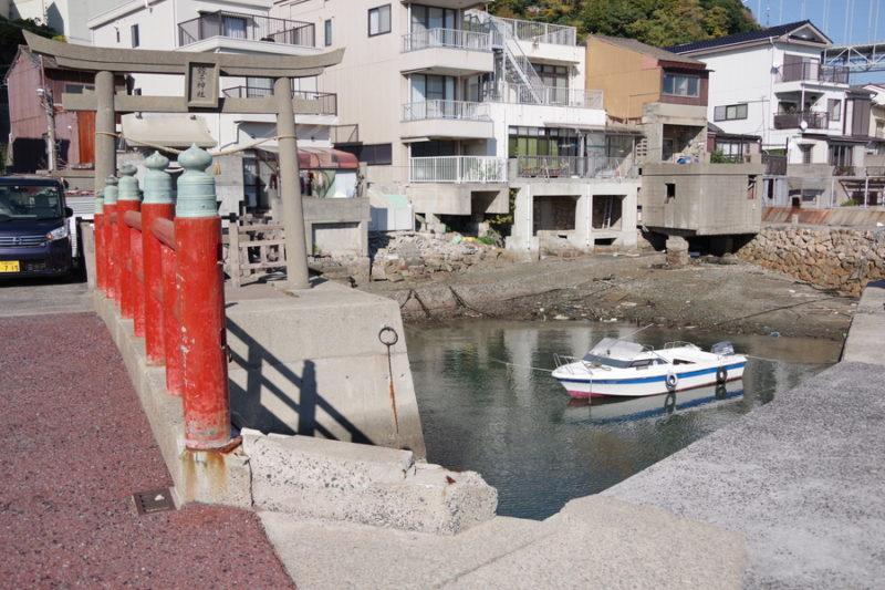 壇ノ浦漁港舟屋