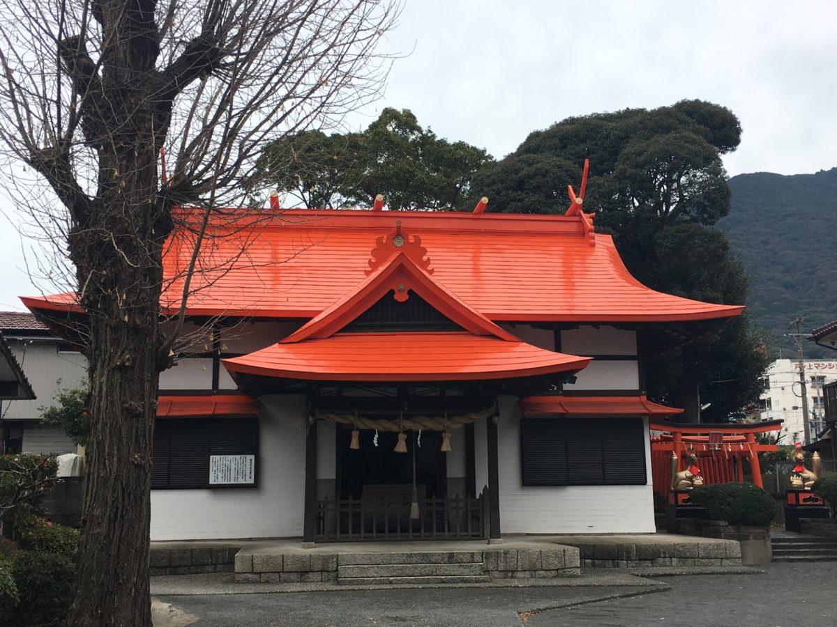 御所神社拝殿