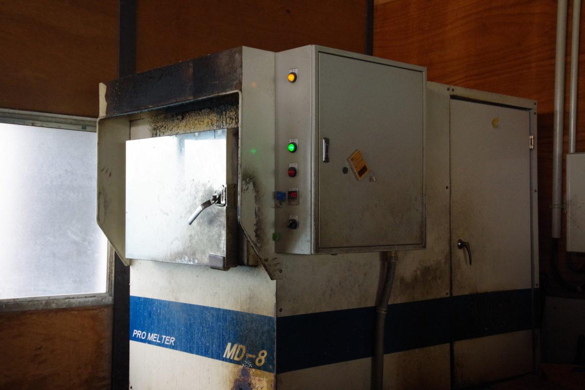 エコプラン溶融機