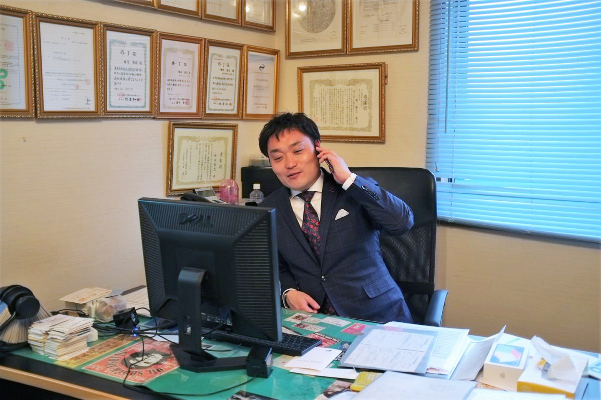 エコプラン梅田社長