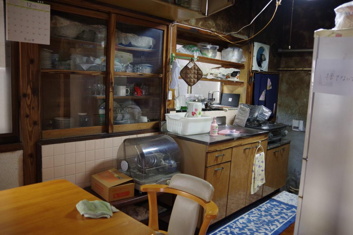 作業前台所